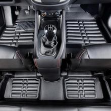 Floor Mats Auto Foot Mat Car Step Mats For Honda CR-V 2010.2011.High Quality Solid Color Mats.Star War