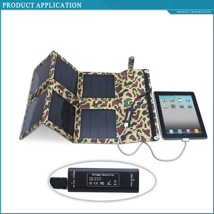 18W multi-functional foldable solar panel charger power bank for outdoor usage/hiking/camping(China (Mainland))