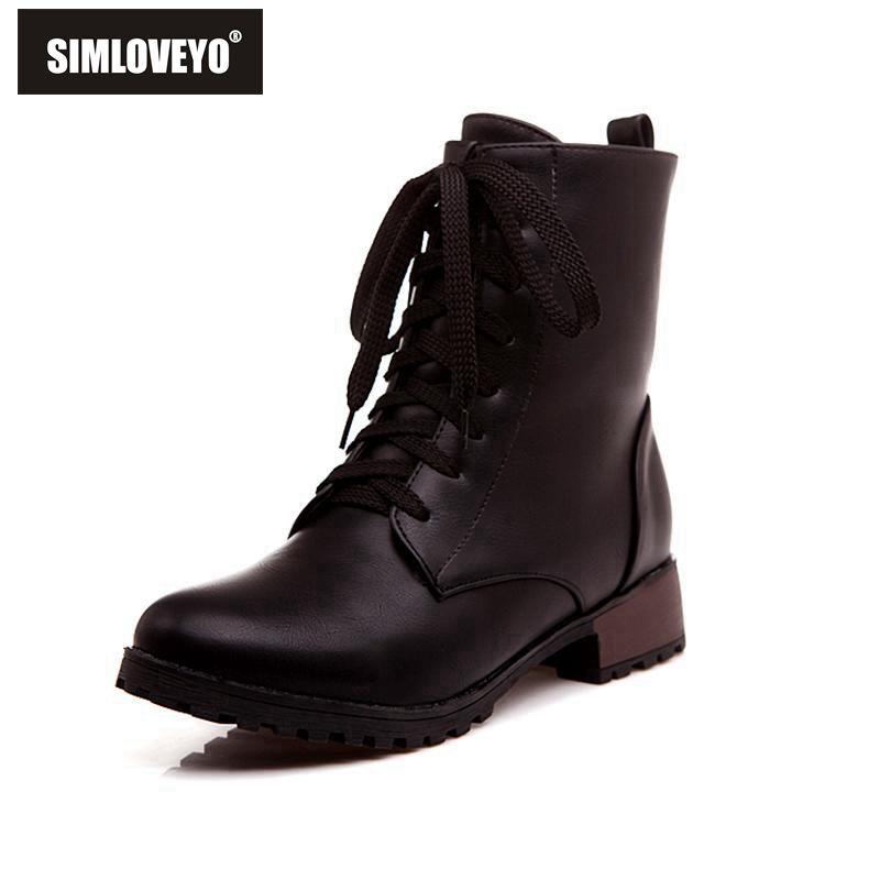 Plus size 33-47 New arrival Autumn winter Women shoes Middle heels Knot Flower Ankle boots for women Fashion 3 Color Hot sale(China (Mainland))