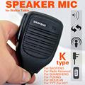 Mini PTT Speaker MIC For Radio Kenwood QUANSHENG PUXING LINTON TYT HYT BAOFENG UV5R 888S Speaker