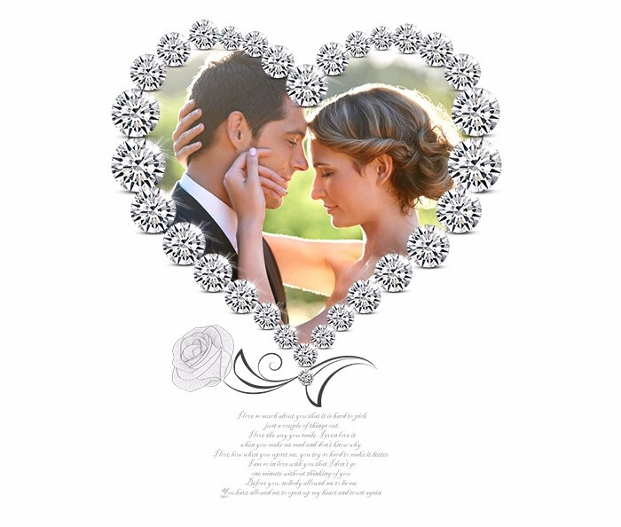 Heart-wedding