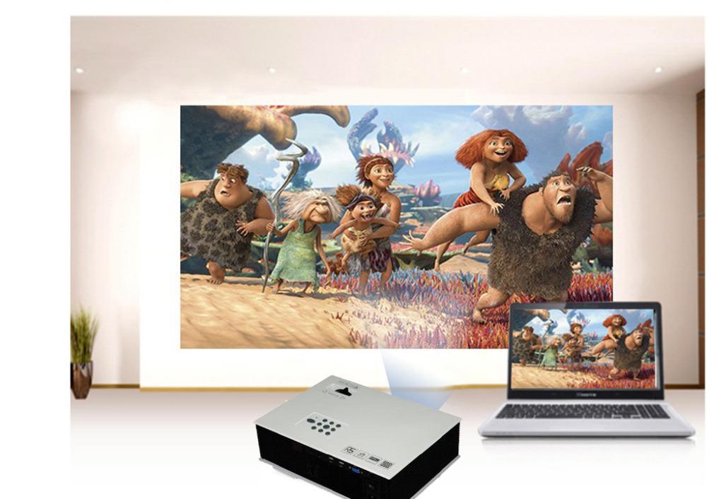 New HD Home Theater LED Video Projector PC&Laptop AV HDMI VGA USB SD TV IP Protector 800*600(China (Mainland))