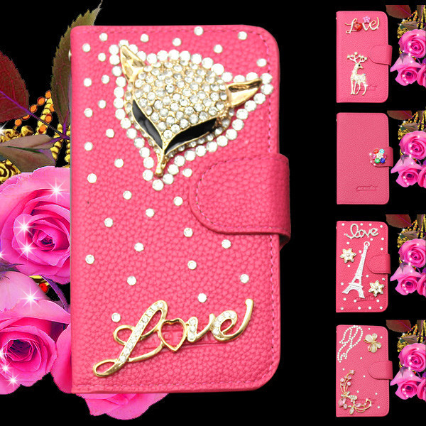 Free diamond dust plug white ballet girl Rhinestone Case cover For apple iphone 4s with credit card slots case for iphone 4s(China (Mainland))