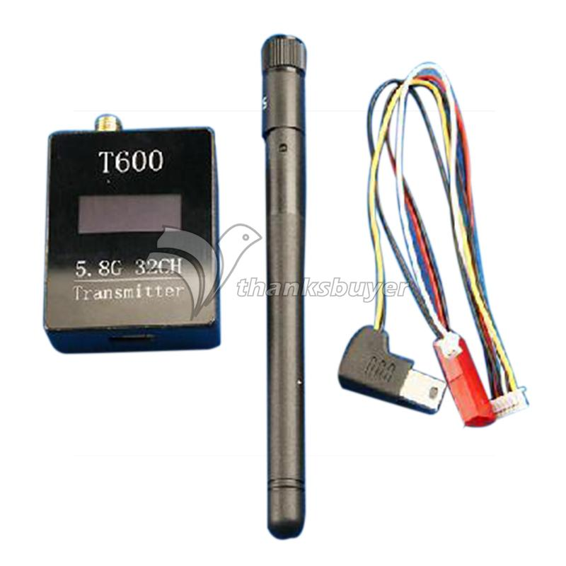 NEW 5.8G FPV T600 600mW 32CH Audio/Video AV Transmitter Module for Receiver Multicopter<br><br>Aliexpress