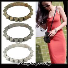Vintage Bracelets Bangles for women Punk Bangle Stretch Bracelet Bangle for men or women fine jewelry 1314 jewelry wholesale(China (Mainland))