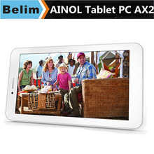 Ainol AX2 Quad core Numy 3G 7″ 5-point Capacitive 1024*600 IPS Touch, Android 4.2.2 MTK8382 Tablet PC with GPS Bluetooth Wi-Fi