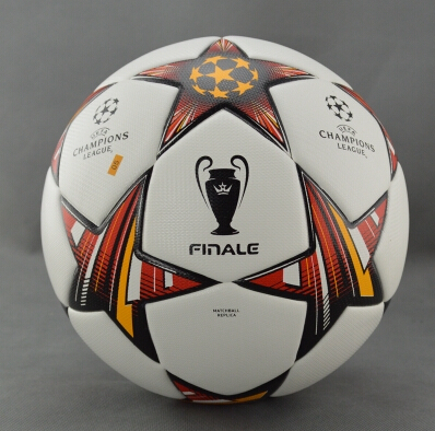 NEW NEW NEW A+++ 2015 Champions League football soccer balls particles antiskid size 5 3 Colors free shipping(China (Mainland))