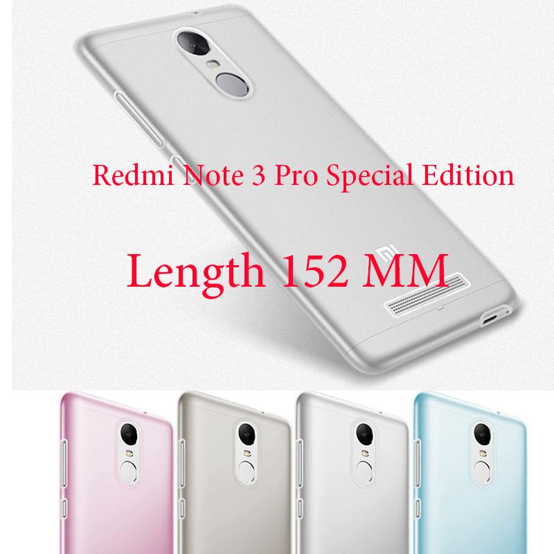 Xiaomi Redmi Note 3 Redmi Note 4 Redmi 3S Cover Ultrathin Soft TPU Fundas Case Xiaomi Redmi Note 3 Pro Prime Special Edition