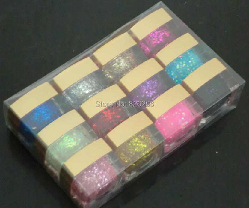 Nail Gel 12colors/set Shining /Pure Two Types Choice Women Nail Polish Gel Nail Art Builder Gel DIY Nail Tools(China (Mainland))