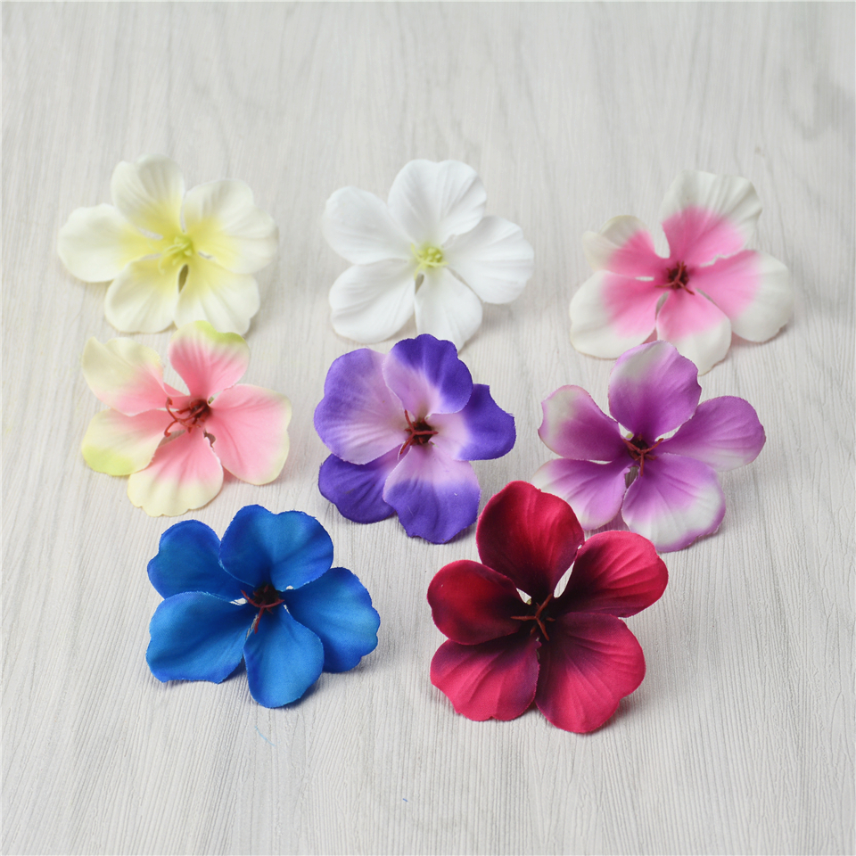 20pcs spring silk gradient orchid artificial flower for Artificial flower decoration for home