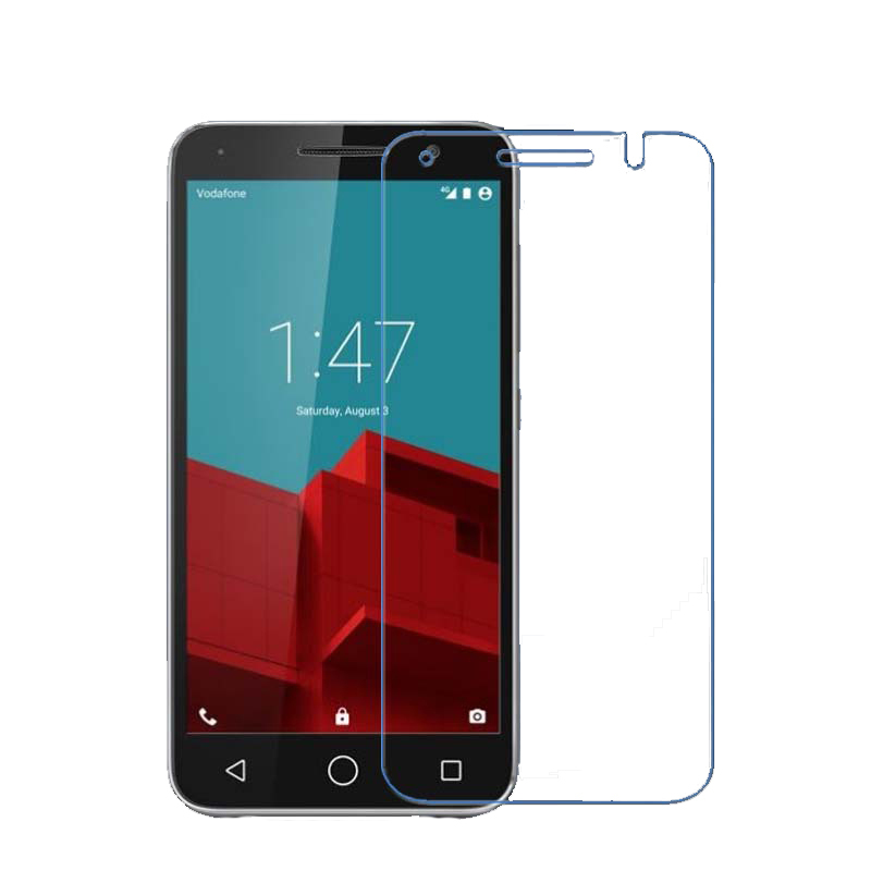 2015 Hot Sell 2.5D 9H 0.3mm Tempered Glass Screen Protector Film For Vodafone Smart Prime 6 With Retail Package(China (Mainland))