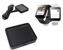 Carregadores & Docas Cradle de Carregamento Dock para LG Carregador de Bateria com Micro-cabo G Assista R W100 Smartrelógio Relógio Inteligente USB