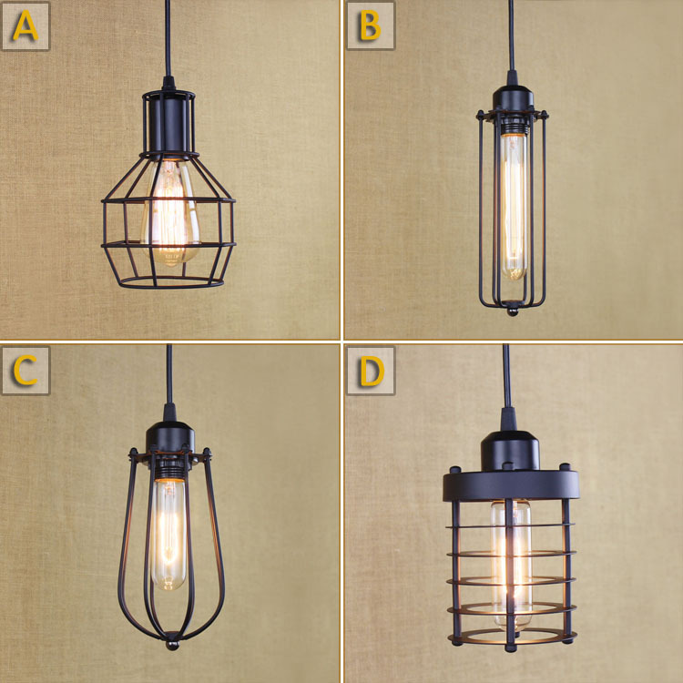 American Country Loft Industrial Contracted Pendant Light Retro Coffee Shop Decoration Light Balcony Chandelier Free Shipping<br><br>Aliexpress