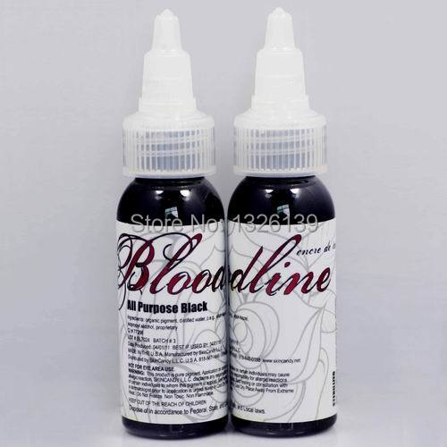 FREE SHIPPING Bloodline Tattoo Ink 30ml 1OZ(All Purpose Black color) Tattoo Pigment Kit<br><br>Aliexpress