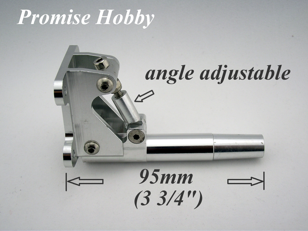 """Adjustable stinger drive for 1/4"""" prop shaft for .67 to .90 nitro or 23-35 cc gas marine engine rc boat(China (Mainland))"""