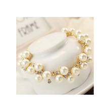 2016 Real Bangles New Arrival Women Bezel Setting From India Bracelets Fashion Elegant Ladies Wearing Flashing Bracelet Sl284