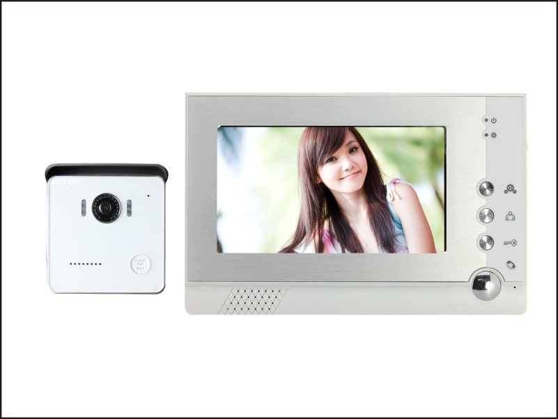 7 inch screen villa wired color home video door phone surveillance systems VDP-313+CAM-212 intercom door phone system kit<br><br>Aliexpress
