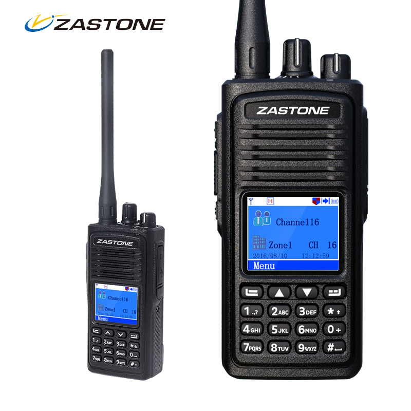 Zastone D900 Digital Walkie Talkie DMR Portable Digital Radio Transceiver UHF Handheld Two Way Ham Radio + Programming Cable(China (Mainland))
