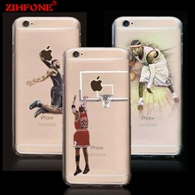 Buy FOR IPHONE 7 NBA Hard PC phone cases NBA Star iphone 6 case James Harden Michael Jordan Lebron coque case FOR iphone 6 6Plus for $1.13 in AliExpress store