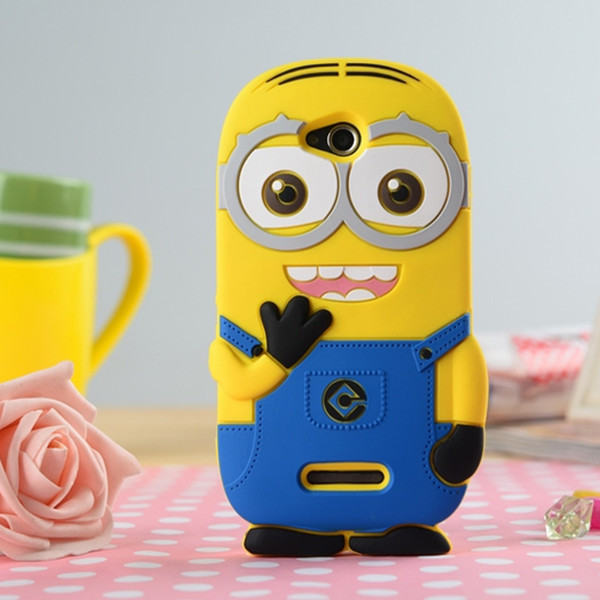 Sony Xperia C S39h C2305 3D Cute Cartoon Despicable Minion Thief Daddy Soft Silicon Case Cover Shell - BEIJING WuYue Electronics Technology Group Co., Ltd. store