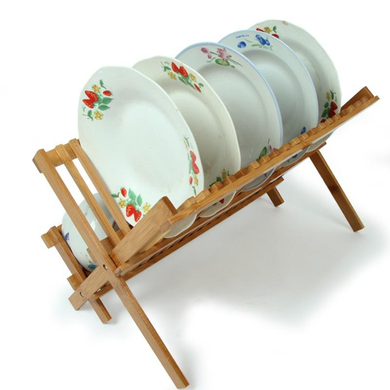 Special bamboo dish rack Drain rack dish rack storage rack kitchen dish rack Lek put double bowl mounting Bowl   FREE SHIPPING<br><br>Aliexpress