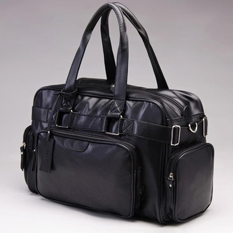 New style men travel bag fashion designer men handbags shoulder bags large capacity pu leather duffle bag PT1097(China (Mainland))