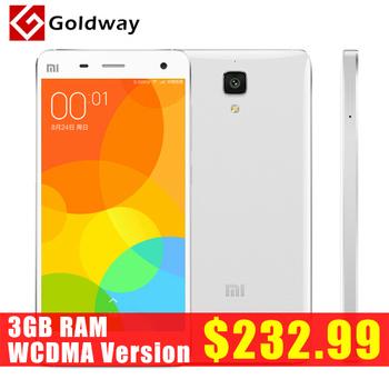 """Оригинал Xiaomi Mi4 M4 Mi4i 16 ГБ 3 г WCDMA 5.0 """" 1920 * 1080 P Snapdragon801 четырехъядерных процессоров 3 ГБ RAM 13MP андроид 4.4 MIUI 6 Goldway"""
