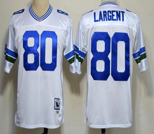 100% Stitiched,Seattle Seahawks,Steve Largent,Shaun Alexander,Cortez Kennedy,Throwback for men(China (Mainland))