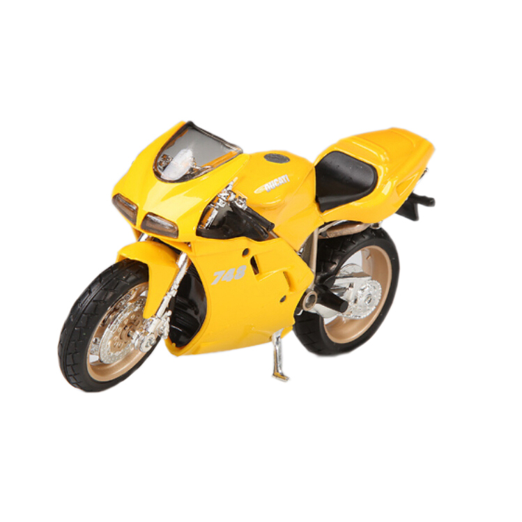 ABS Plastic diecast Motorcycle model for Triumph 955i 1:18 high speeding motorbike off-road car Collection gift toy(China (Mainland))