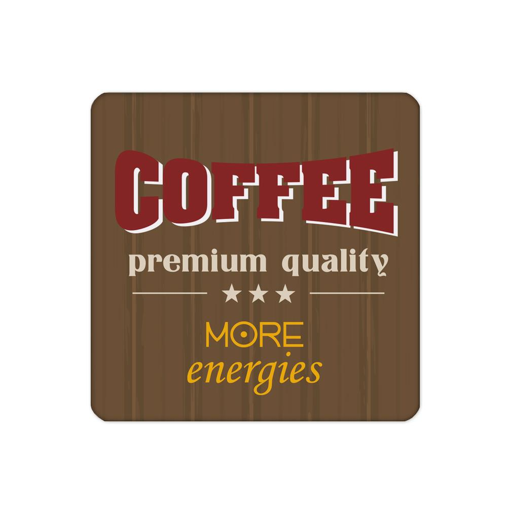 4pcs/set Brown Coaster with Coffee Premuim custom Home Table Mat Bakery Creative Decor Drink Placemat cork Square cup mat(China (Mainland))