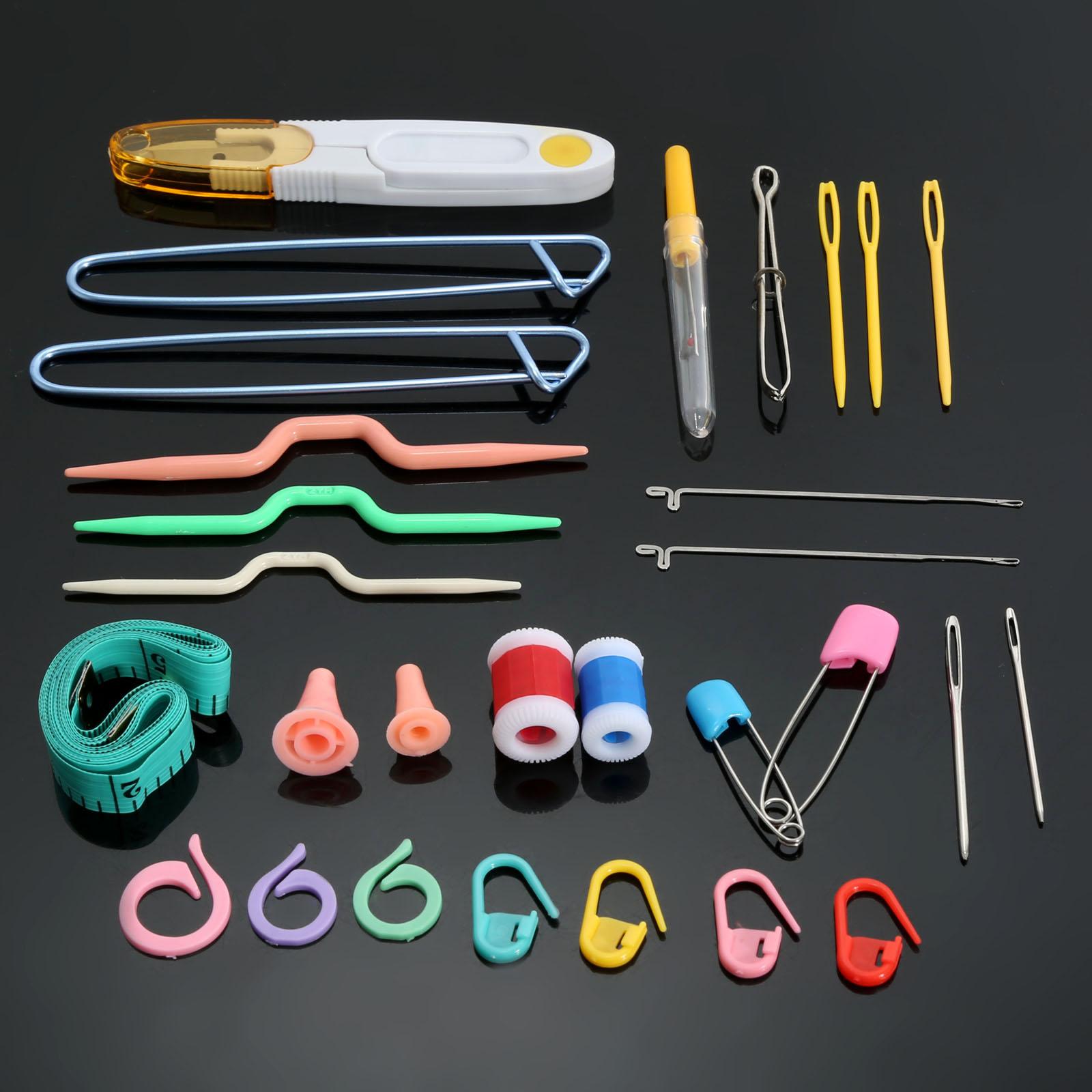 Инструменты вязания спицами