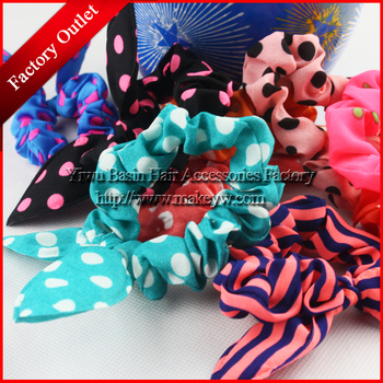 Free shipping 5pcs/lot Wholesale/Retail Fashion rabbit ear hair bands Korean style hair accessories Best Nice head flower bands