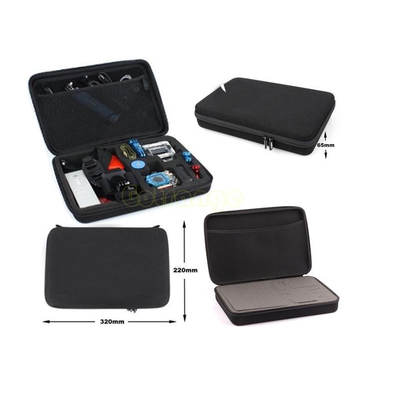 Large collection box camera case,Tool storage Travel bag For Gopro Go Pro Hero 4 3+ Xiaomi Yi SJCAM SJ4000/SJ5000/SJ6000/SJ7000(China (Mainland))