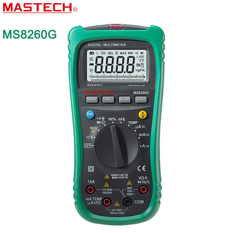Multimeter For Home : Mastech ms g auto range digital multimeter ohm voltage