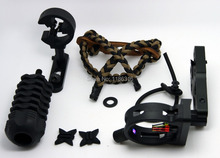 UPGRADE KIT COMPOUND BOW STABILIZER OPTIC SIGHT ARROW REST Peep archery sights Free Shipping