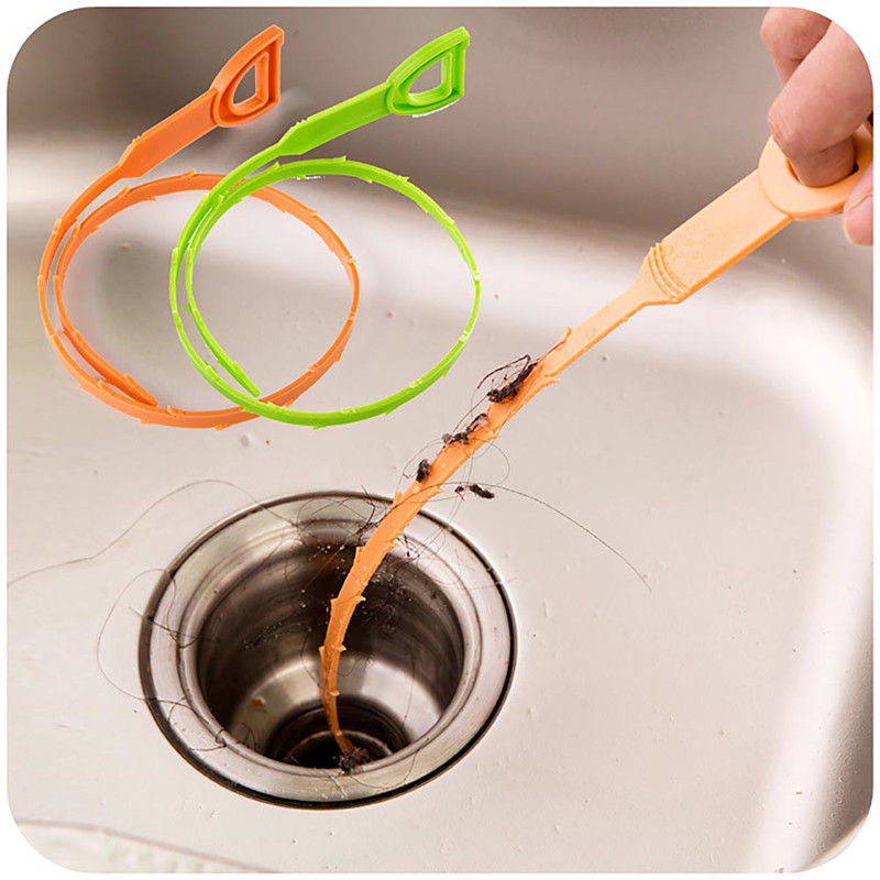 1pcs Hair Dredge Device Removal Hook Home/ Kitchen/ Bathroom Sink Drain Cleaning Tool(China (Mainland))