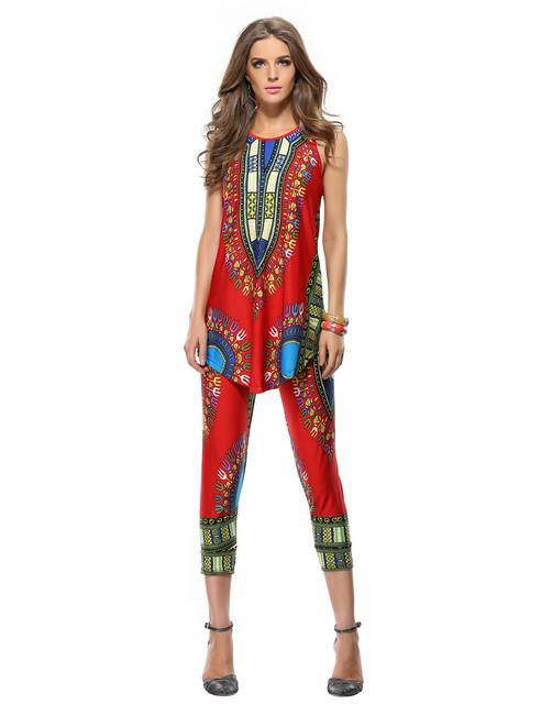 Женщины Топ Без Рукавов Традиционной Африканской Моды Платья И Женщин Традиционной ...