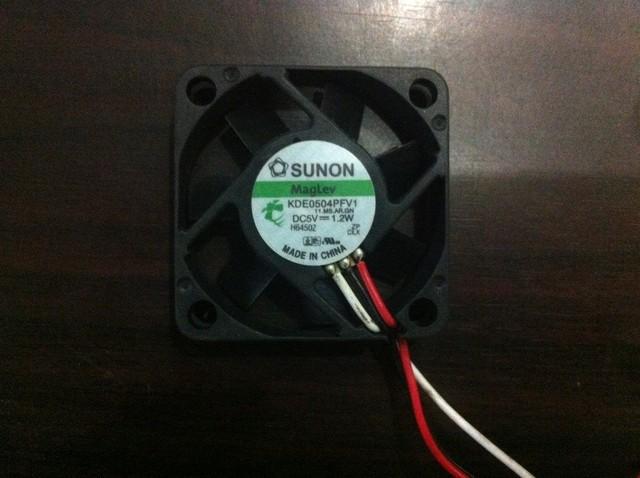 FANS HOME Original kde0504pfv1 4010 5v 1.2w hydraulic bearing power supply fan 4cm