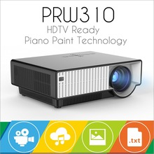 Free Shipping By DHL LED Full HD Projector 2800 lumens  Dynamic 4K real home Theater Projector exceed Mini LED Projector(China (Mainland))