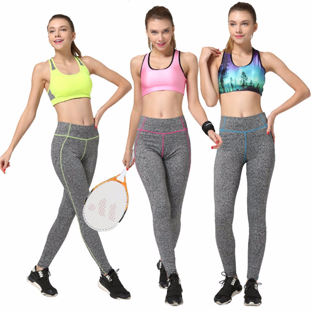 Yoga pants for women fashion girls gym running trousers leisure sports leggings 3 colors yoga pants fitness tight dance pants(China (Mainland))