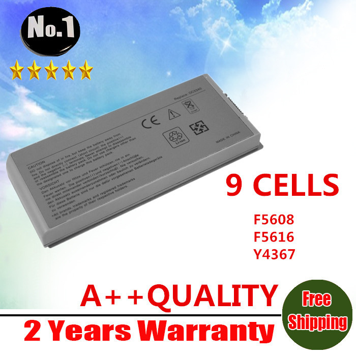 WHOLESALE New Laptop Battery For Dell Latitude D810 Precision M70 M22 Series C5331 D5505 D5540 9-cells Free shipping(China (Mainland))
