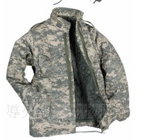 Field dress perfect American M65 green coat with liner winter jacket S-XXL free shipping(China (Mainland))