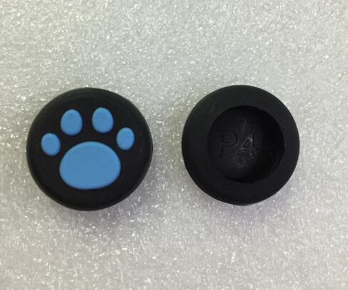 100 pcs color Cat Paw Silicone silicon Joystick Thumbstick Grip Caps cap for PS4/PS3/Xbox 360/ONE()