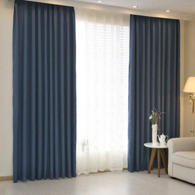hotel style blackout curtains htel rideaux blackout salon. Black Bedroom Furniture Sets. Home Design Ideas