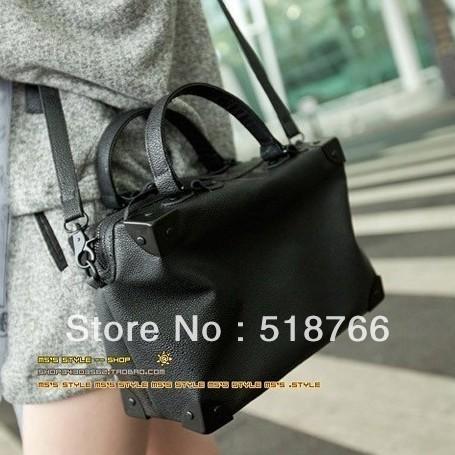 Hot Vintage Matte Leather Briefcase Handbag 2013 New Fashion Women Designer Shoulder Messenger Bag Free Shipping Wholesale/Retai
