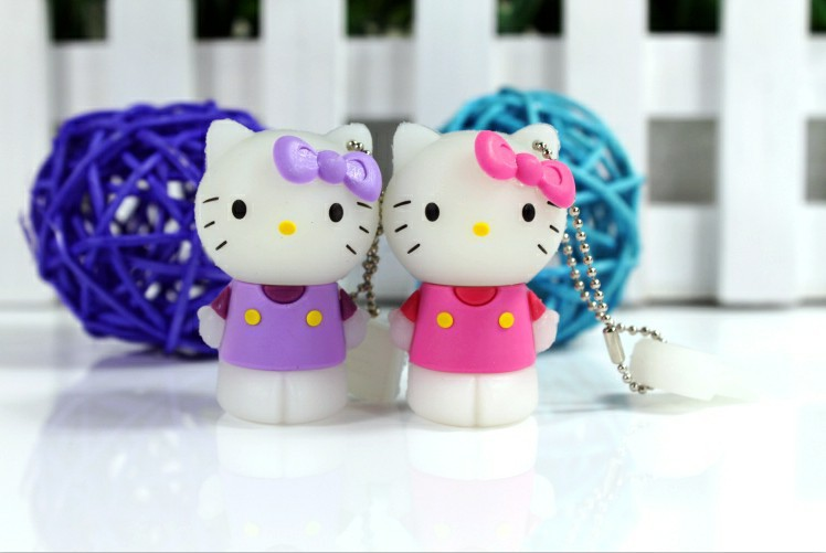 100% real capacity USB pen drive storge cat  USB Flash pen drive 16GB 8GB 4GB USB 2.0 usb flash pendrives cartoon cat S13 AA(China (Mainland))