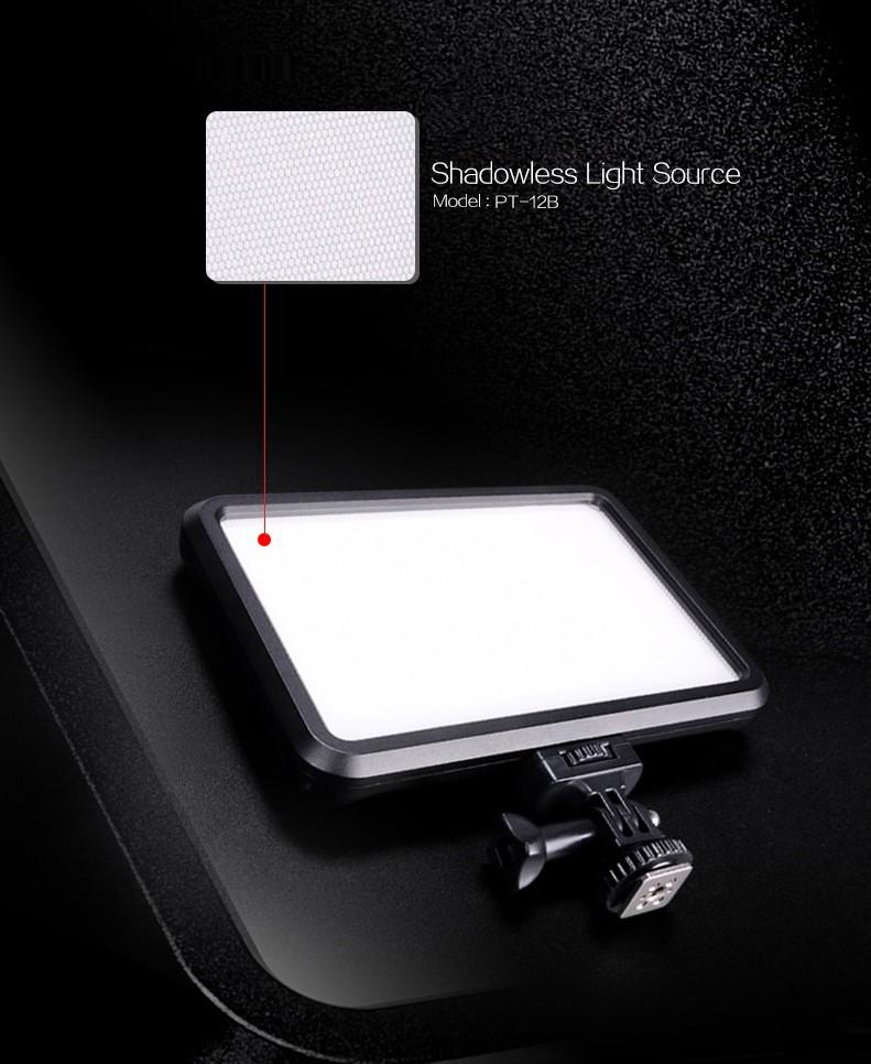 ถูก อัลตร้าบางสองสีนำวิดีโอแสงที่มีการควบคุมแบบสัมผัสLEDแผงสำหรับDSLRภาพและวิดีโอ