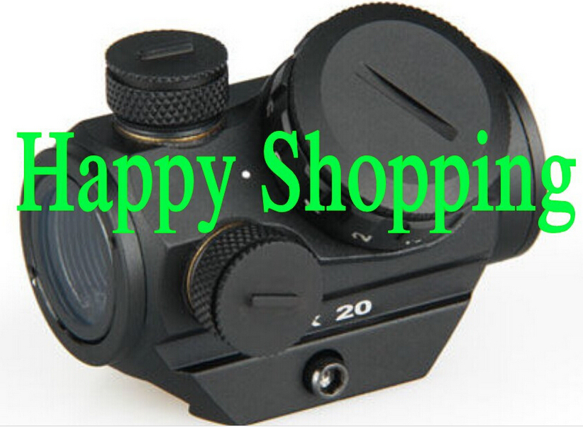 Tactical 1X20 HD Reflex Red Dot Sight Scope With 20mm Weaver Rail Mount<br><br>Aliexpress