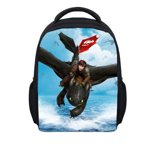 love Children School Bags Train Dragon Backpacks little Boys Hiccup book bag Kids - 100% Quality Toy store