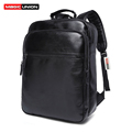 MAGIC UNION Temperament Fashionable Man Backpack High Quality Patent Leather Business Casual Men s Backpack Laptop